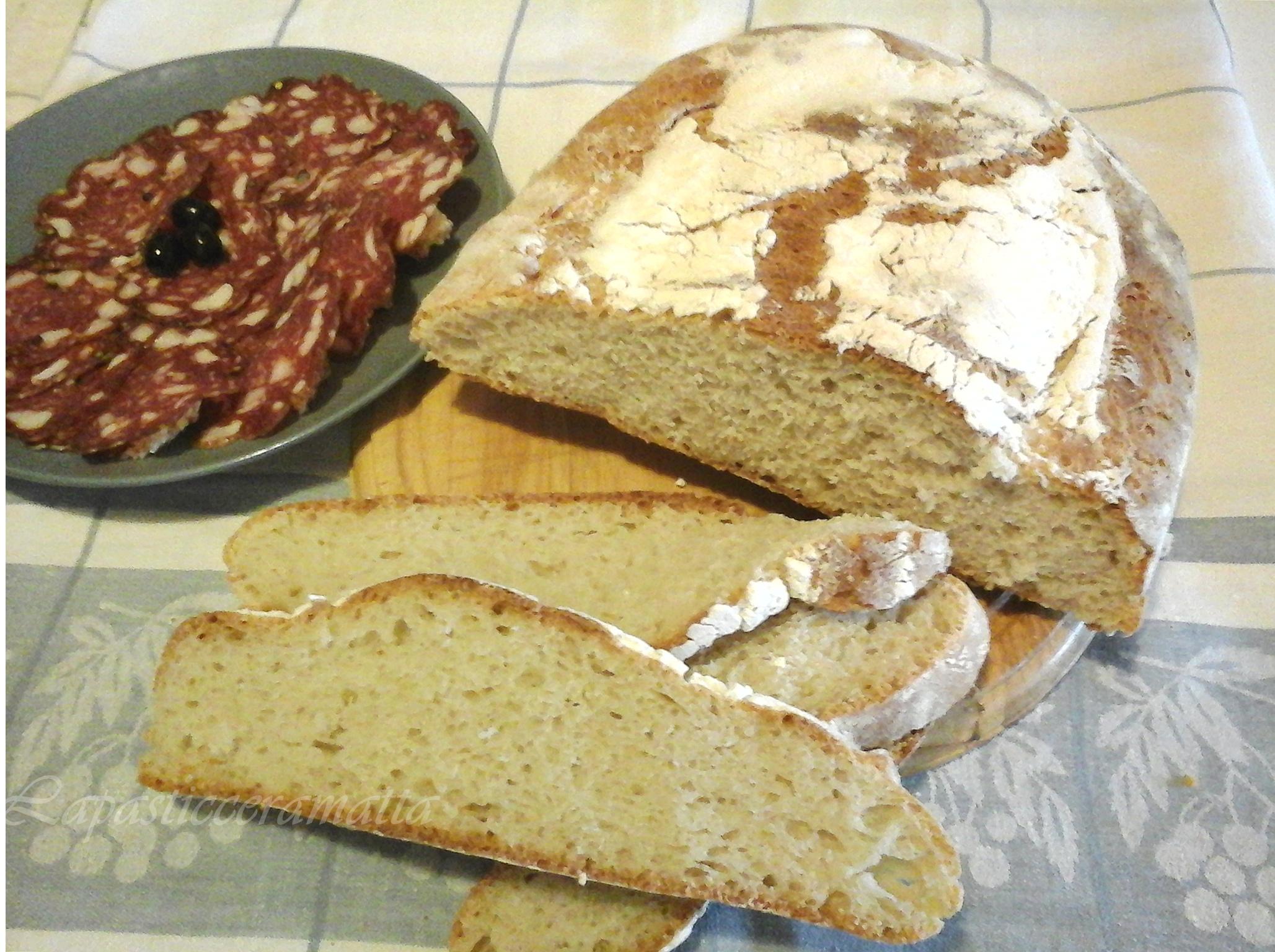 Pane toscano con lievito madre