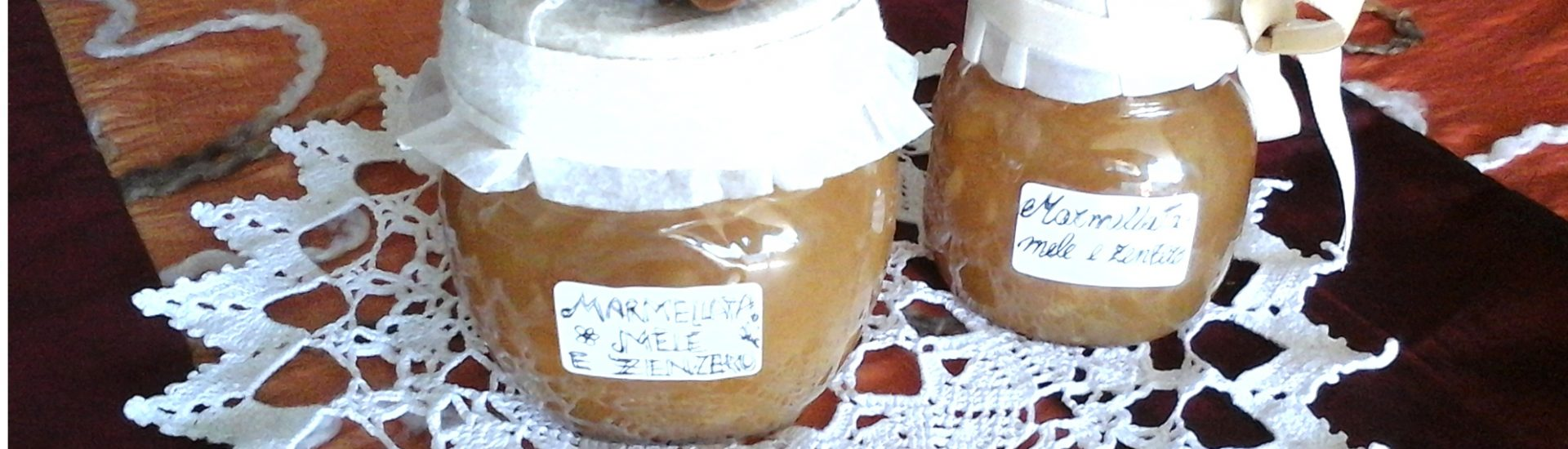 Marmellata di mele e zenzero