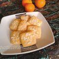 Biscotti senza glutine arance e mandorle