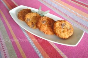 Polpette di quinoa patate e melanzane