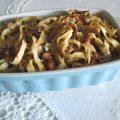 Tagliatelle fatte in casa, zucca, radicchio rosso, gorgonzola dolce