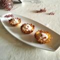 Tartellette di patate con mousse di tonno