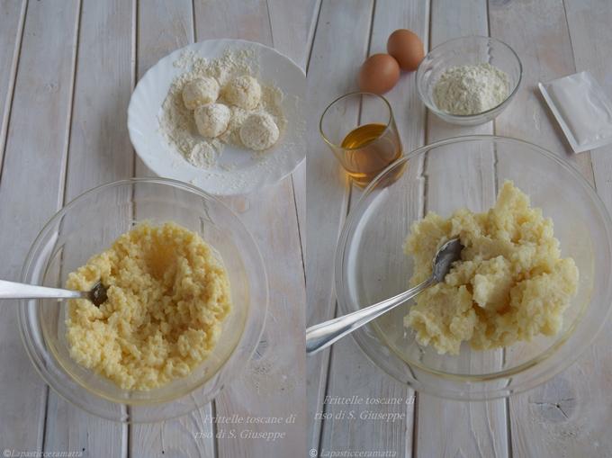Frittelle toscane di riso di S. Giuseppe