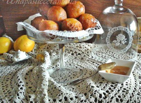 Frittelle ricotta e miele con esubero di pasta madre