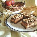 Dolci tentazioni di pane al cacao con mele, nocciole, miele