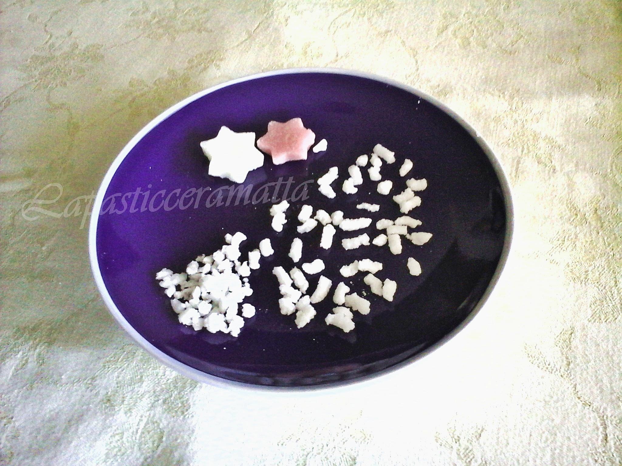 Granella di zucchero e decorazioni fatte in casa
