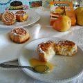 Roselline di pere miele e yougurt soffici
