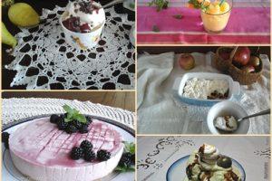Gelati e dolci senza cottura
