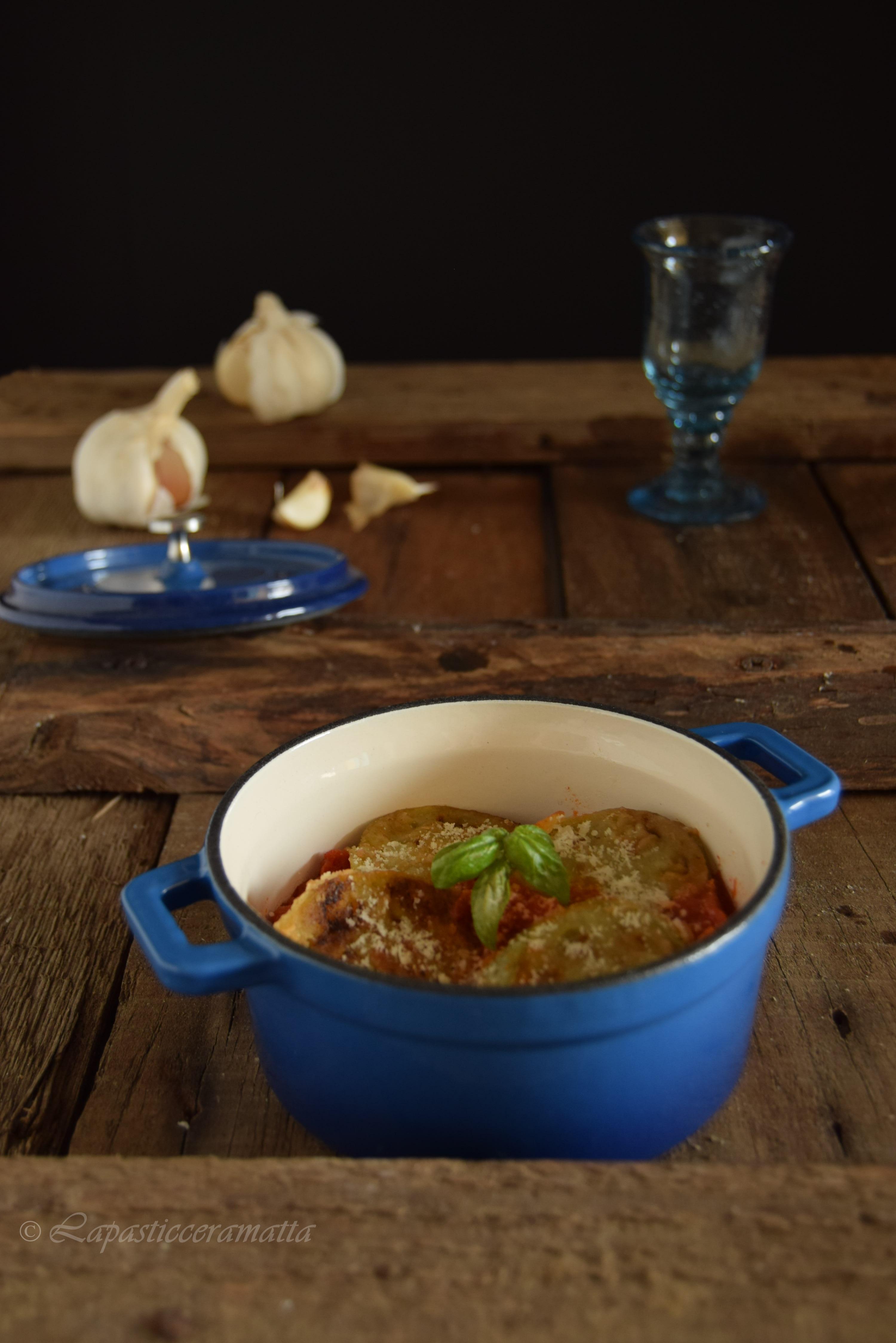 Pomodori verdi in umido (ricetta toscana)