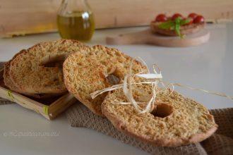 Ricetta friselle con semola di grano duro e pasta madre