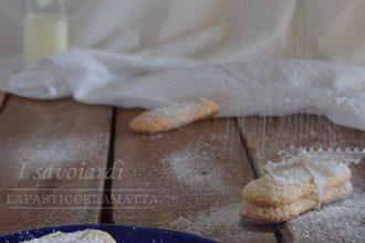Savoiardi ricetta di Massari