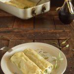Cannelloni ricotta spinaci e funghi