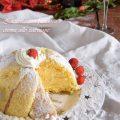 Zuccotto con pandoro e crema zabaione al prosecco