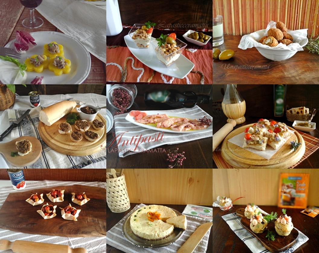 Raccolta di ricette di antipasti per le feste
