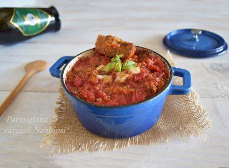"""Parmigiana di carciofi """"sabbiosi""""-ricetta della domenica"""