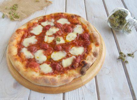 Pizza con lievito madre-ricetta 24 h di lievitazione