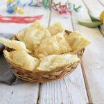 Ravioli di ricotta dolci fritti-ricetta abruzzese di Carnevale