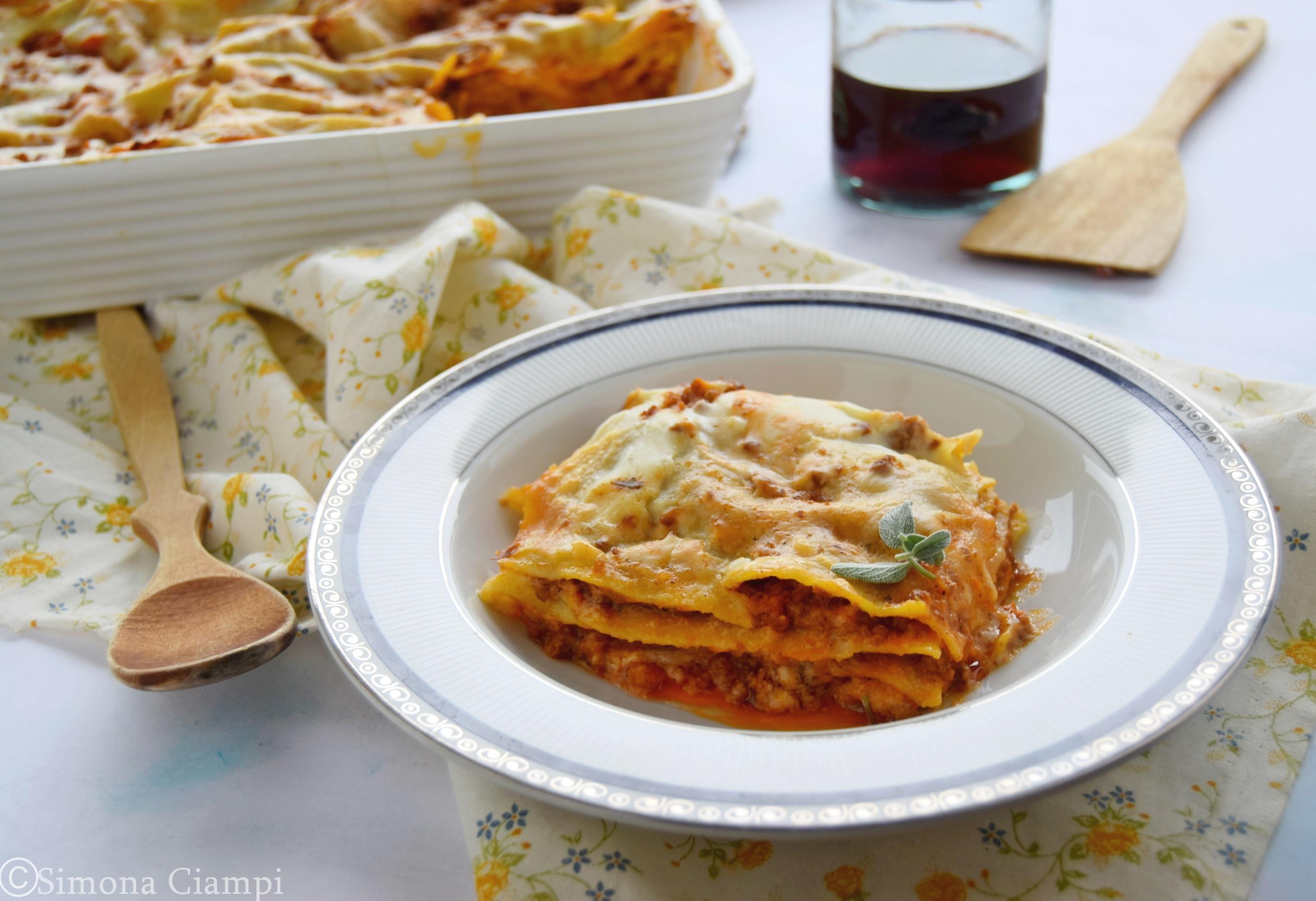 Ricetta Lasagne Toscane.Lasagne Toscane Pranzo Domenicale Lapasticceramatta
