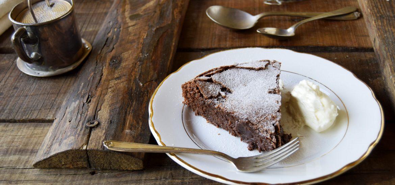 Torta tenerina-ricetta veloce in 20 minuti