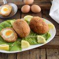 Scotch eggs con salmone-ricetta scozzese