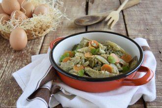 "Verdure in padella a ""buglione""-ricetta svuota-frigo"
