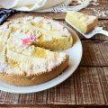 Torta di riso e crema pasticcera