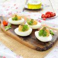 Uova sode ripiene a modo mio -pronte in 15 minuti