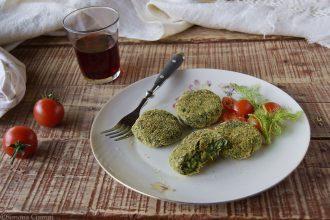 Polpette di spinaci e patate al forno-ricetta light