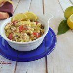 Insalata di cous cous al limone-pronto in 20 minuti