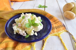 Insalata di patate fredda pronta in 20 minuti