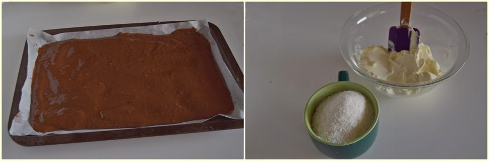 Coppa al cocco e cioccolato