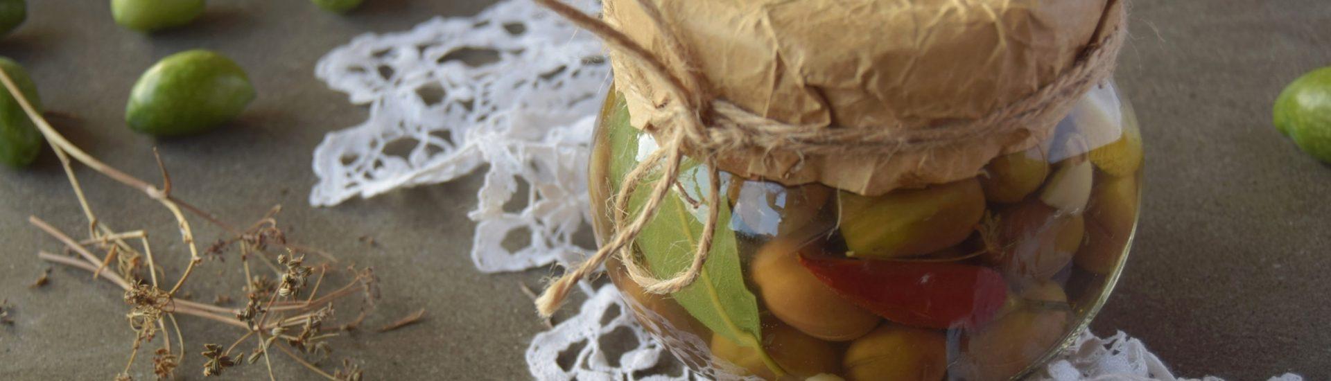Come fare le olive in salamoia naturale