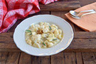 Gnocchi di patate al Gorgonzola-ricetta facile e golosa