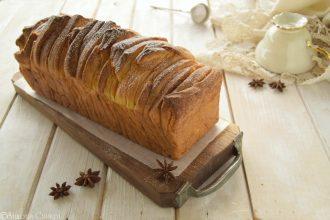 Brioche alla cannella o Cinnamon Sugar pull-apart bread