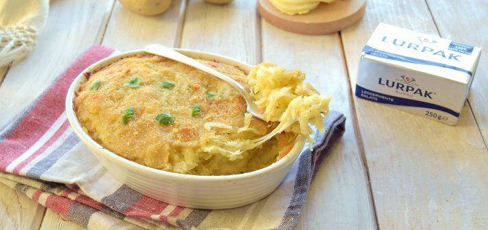 Rosti di patate al forno con scamorza