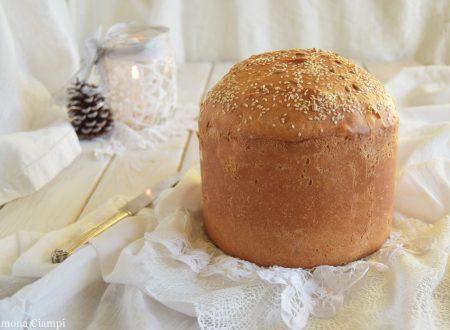 Ricetta base del panettone salato o panettone gastronomico