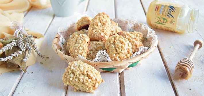 Biscotti mandorlini al miele