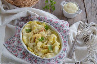 Pasticcio di baccalà al forno con patate
