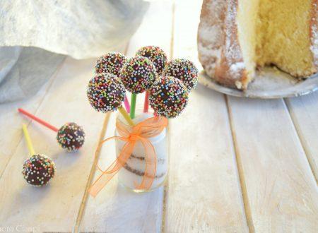 Ricetta cake-pops con pandoro-ricetta del riciclo