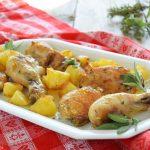 Pollo arrosto con patate-trucchi e consigli