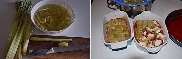 Parmigiana di cardi-piatto unico