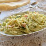 Trofie cremose al salmone e broccoli