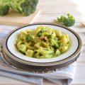 Pasta con broccoli Gorgonzola e noci