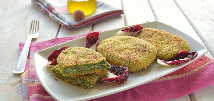 Cotolette di pollo e spinaci-spinacine