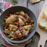 Pollo in padella alla Franceschiello-ricetta abruzzese