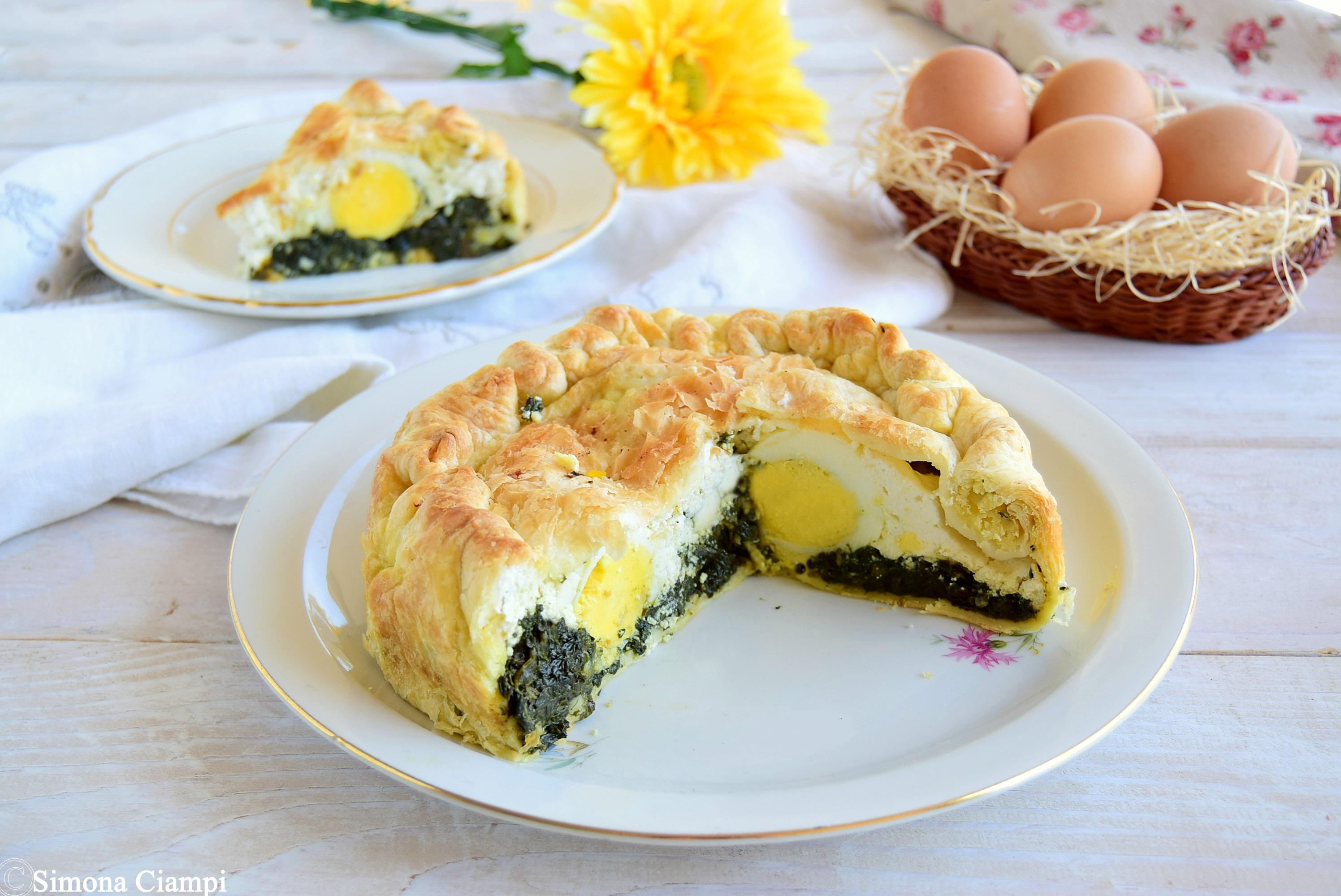 Torta pasqualina semplice e veloce lapasticceramatta for Cucina veloce e semplice