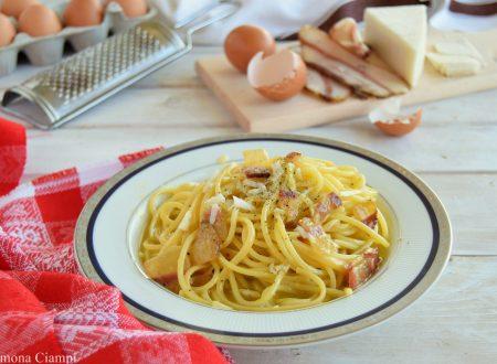 Spaghetti alla carbonara-ricetta classica