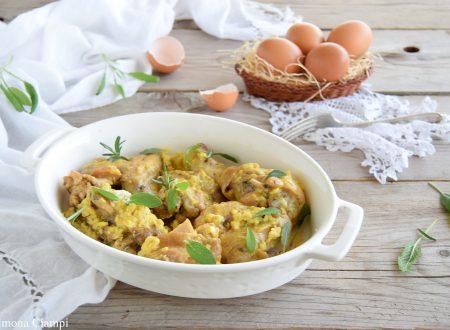 Pollo in fricassea- ricetta toscana della nonna