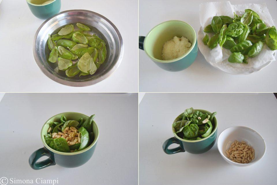 Come fare il pesto genovese bello verde