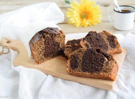 Plumcake al caffè ricotta e cioccolato-pronto in 15 minuti